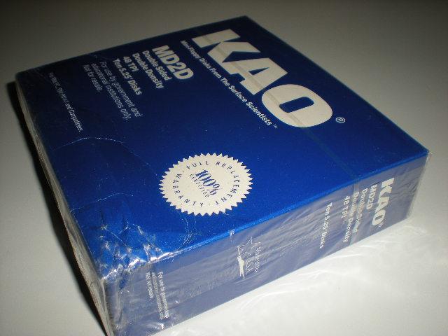 "DSDD floppy disks 3 1//2/"" slightly squished box 3.5 in"