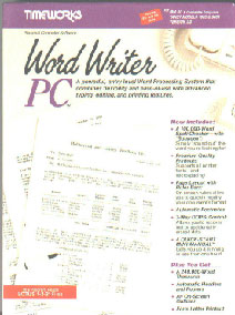 """Timeworks WordWriter PC new in box Dos Word Processing Word Writer PC 3.5/"""" only."""