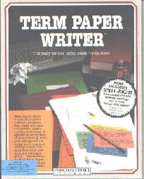 Term paper writer software
