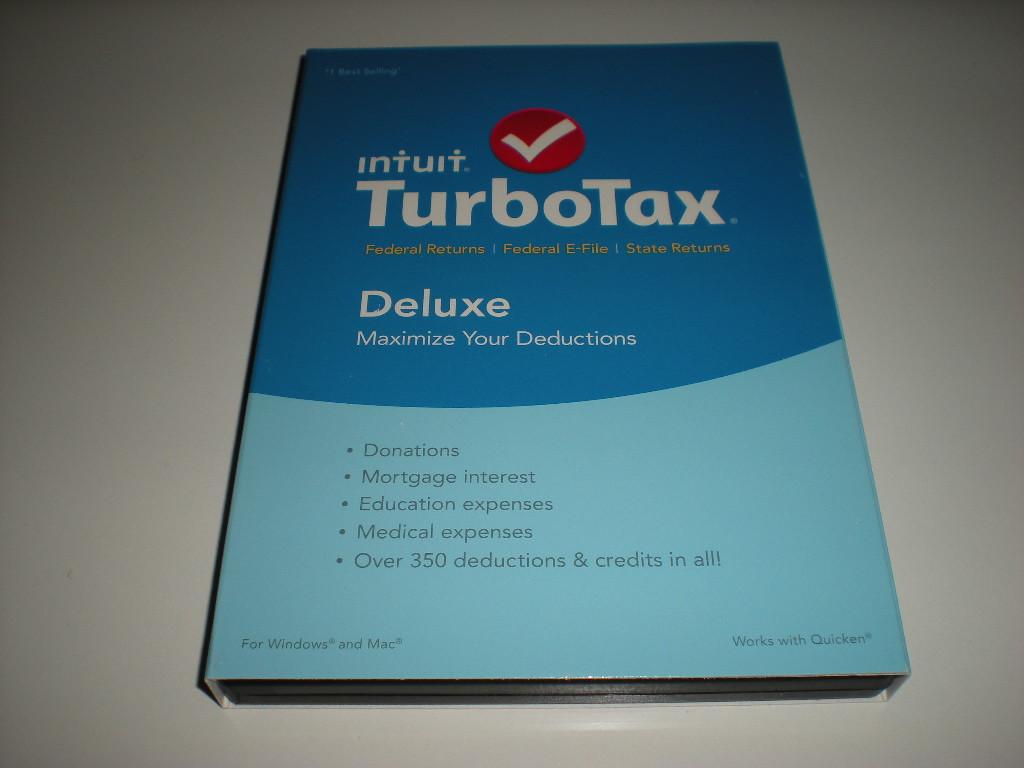 Turbo Tax 1996, 1997, 1998, 1999, 2000, 2001, 2002, 2003, 2004, 2005