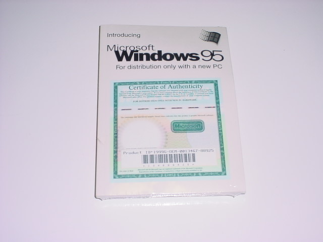 Oem Software And Old Microsoft Software