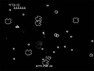 asteroids full screen